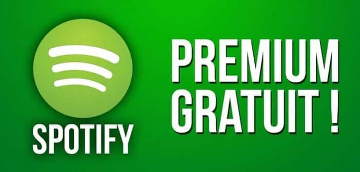 Comment avoir spotify premium gratuit ?
