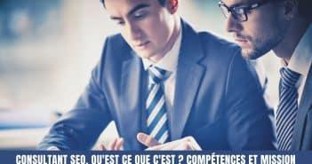 Qu'est-ce qu'un consultant SEO ?